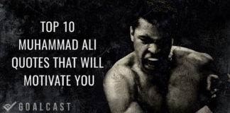 top 10 motivational muhammad ali quotes
