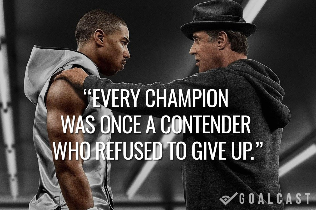 Rocky Quotes rocky quote | Goalcast Rocky Quotes