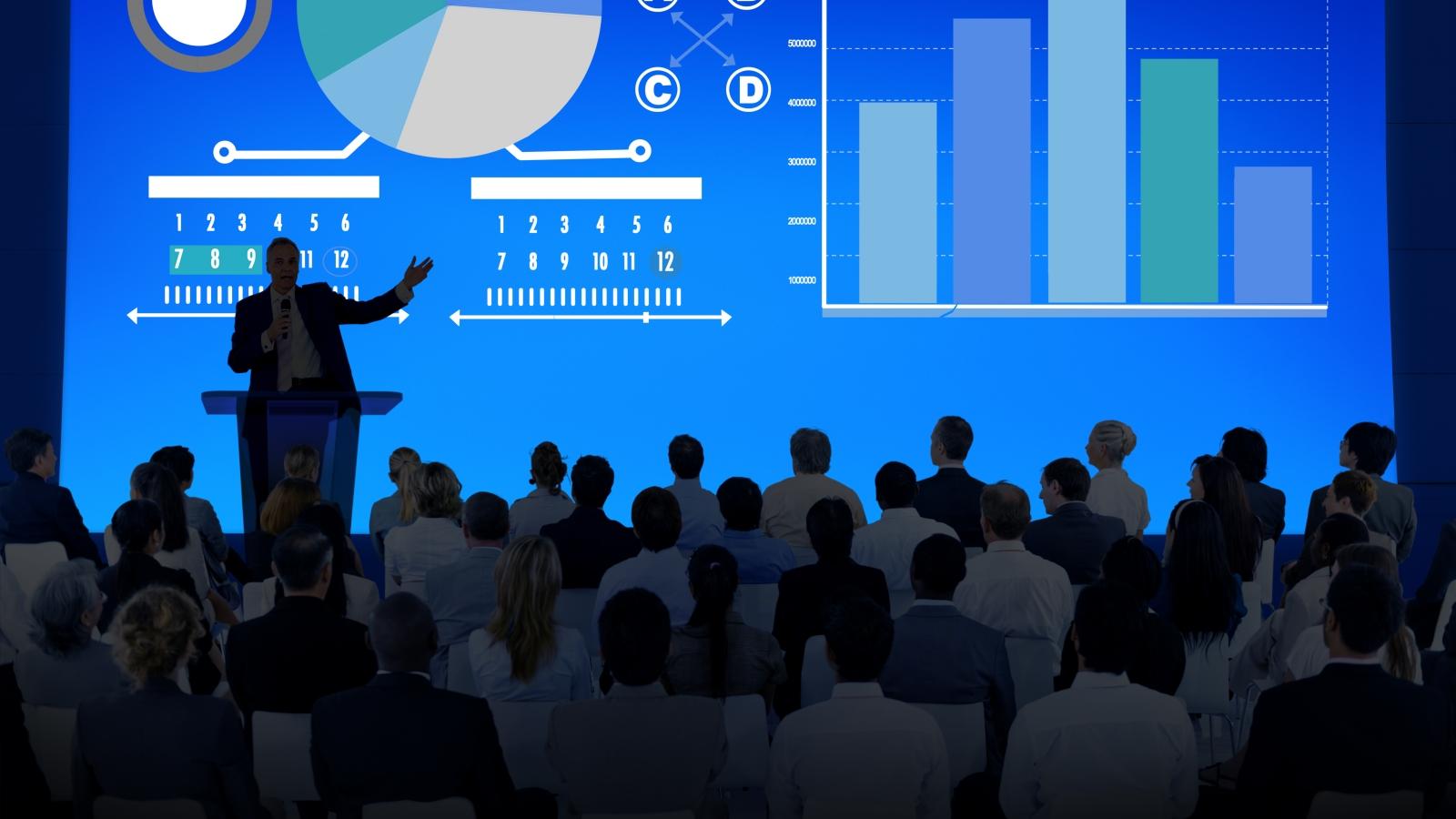 Presenting presentations