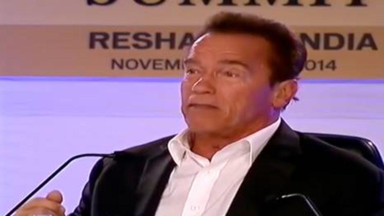Arnold Schwarzenegger Don T Ever Look For Shortcuts Goalcast