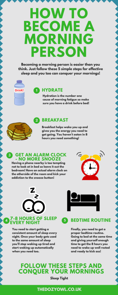 How to Become a Morning Person With 5 Simple Habits