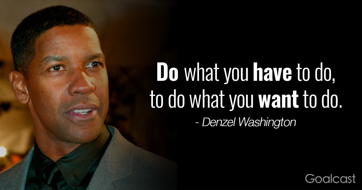 Fences Quotes Entrancing Top 15 Most Inspiring Denzel Washington Quotes  Goalcast