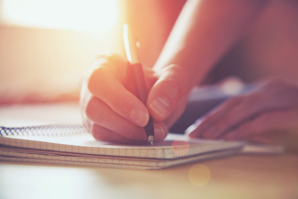 Writing-down-the-reason-for-your-new-habits