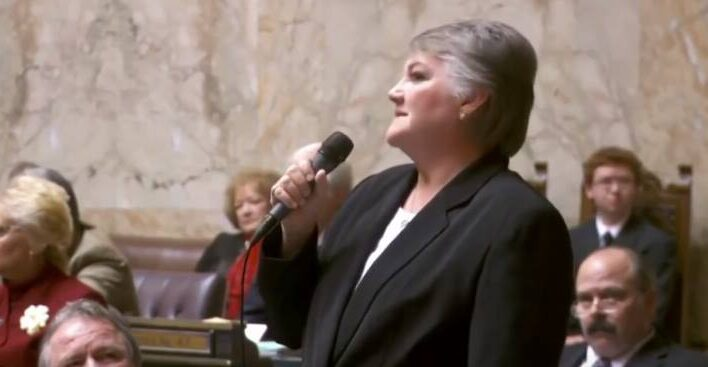 Republican State Senator Maureen Walsh on her gay daughter and the right of all to love whomever they want