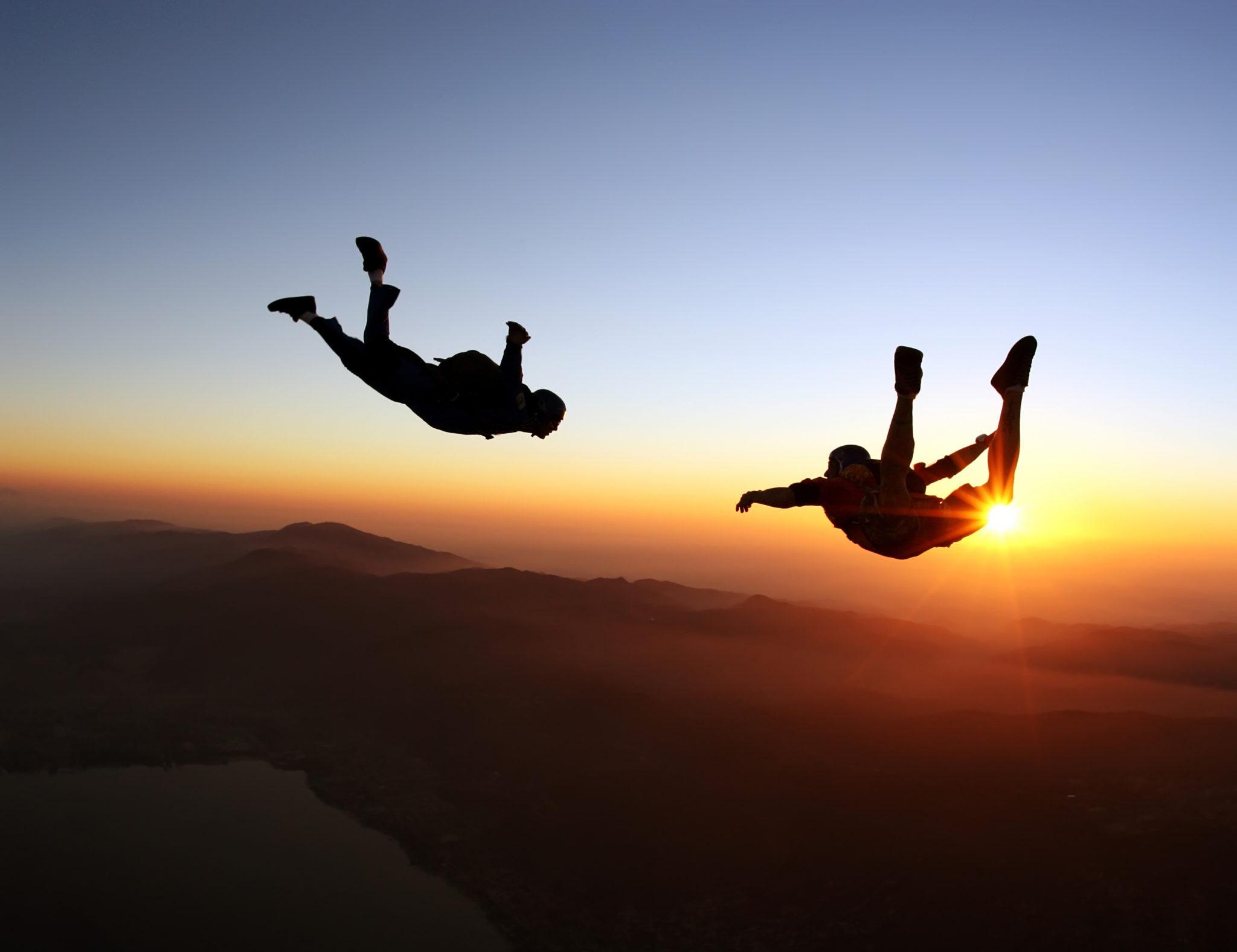 Adventure bucket list - skydiving
