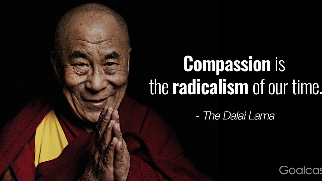 Top 4 Most Inspiring Dalai Lama Quotes  Goalcast