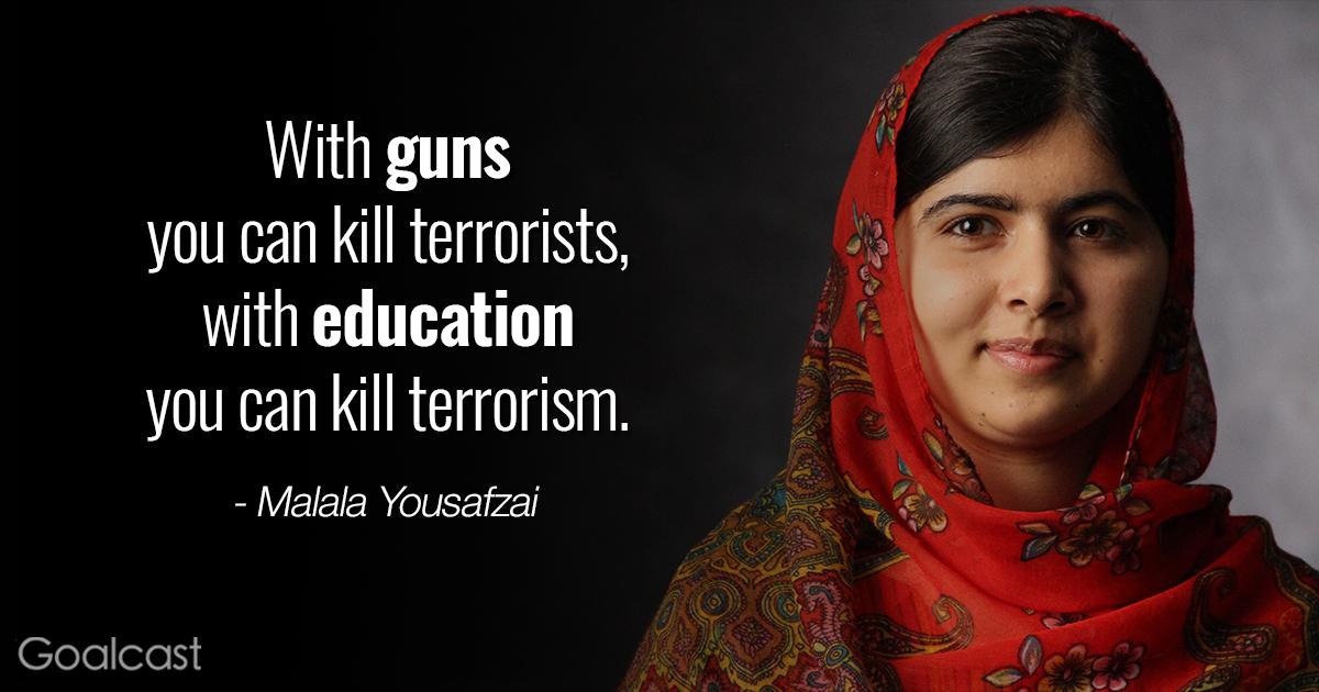 Top 12 Most Inspiring Malala Yousafzai Quotes