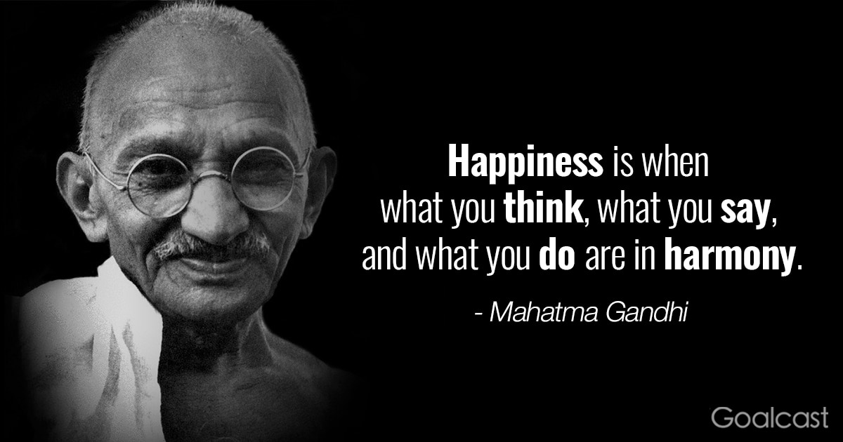 Charmant Inspiring Gandhi Quotes   Happiness