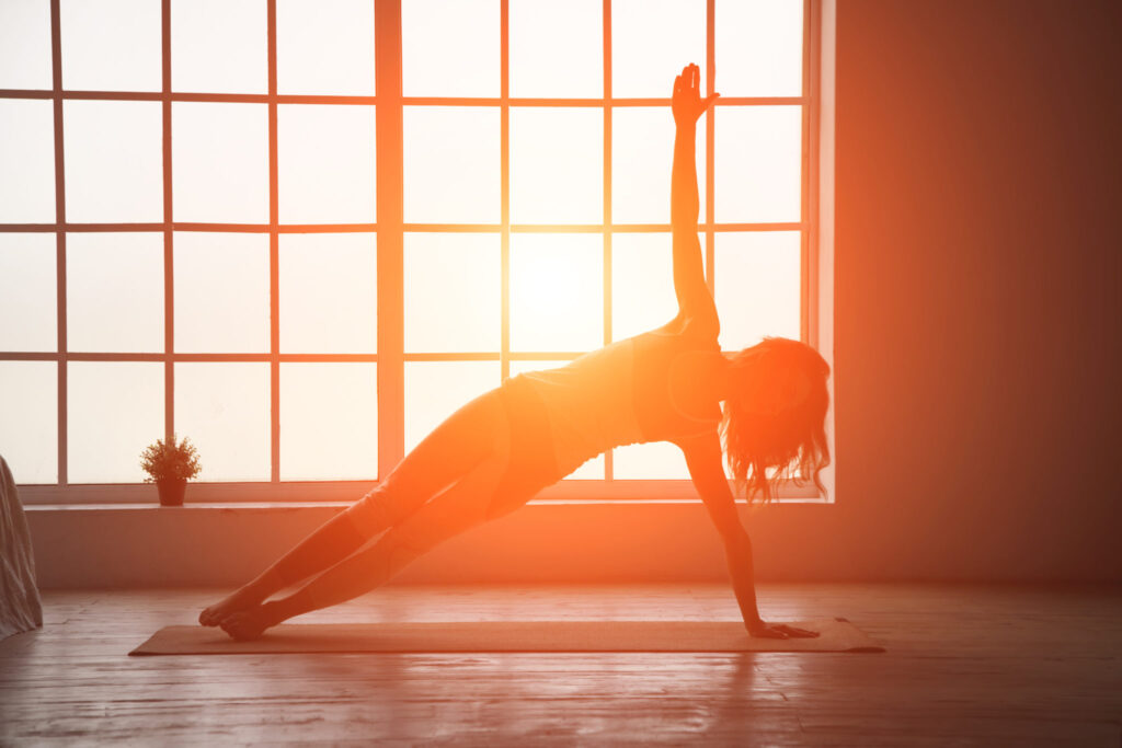 yoga can help you feel energized in the morning