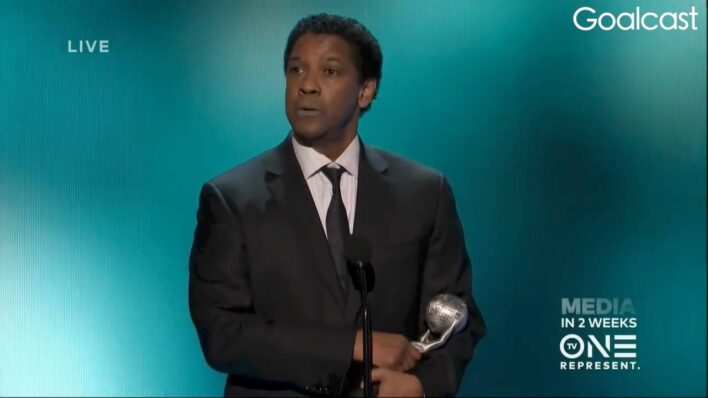 Denzel Washington - Commit to Your Dreams, and Never Give Up