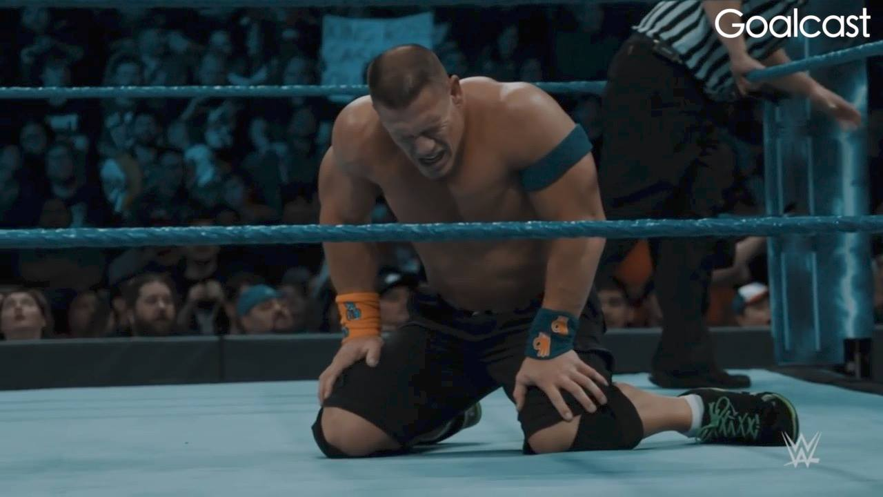 John Cena Pick Yourself Up Goalcast