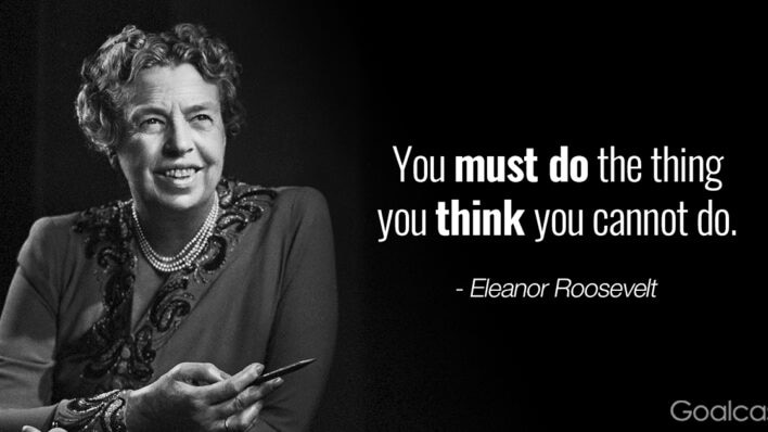 Top 10 quotes to help you leap past your fears - Eleanor Roosevelt