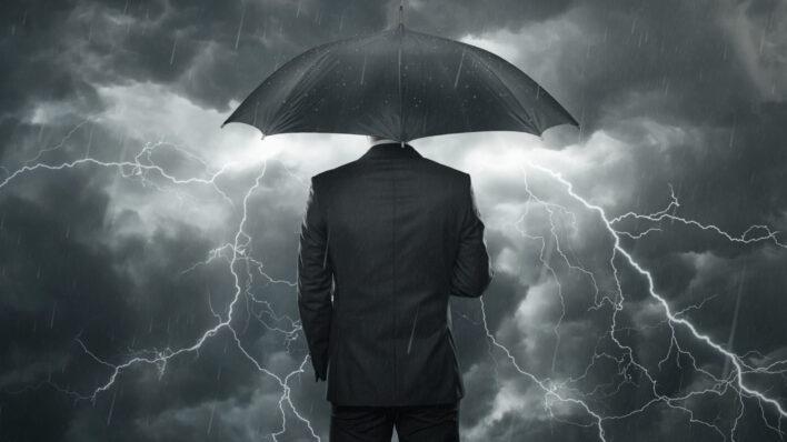 keep steady dont panic - calm amid storm