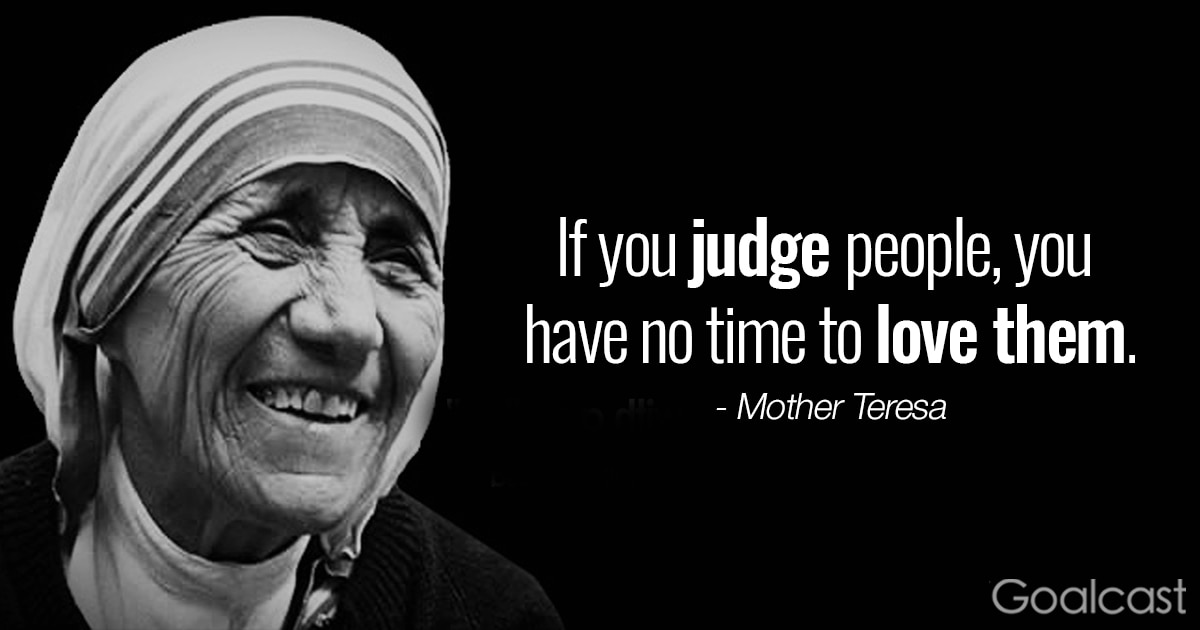 Mother Teresa Love Quotes New Top 20 Most Inspiring Mother Teresa Quotes  Goalcast
