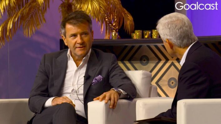Robert Herjavec shares the story of his difficult journey to Canada, and tells people never to complain, because life is full of opportunities.