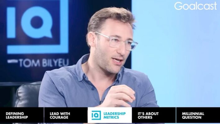 Simon Sinek delivers a powerful message about the nature of love, reminding us that it's consistency in the little things that matters most.