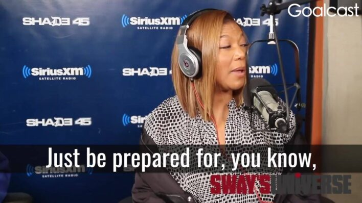 Queen Latifah - Cut Out the Negative From Your Life