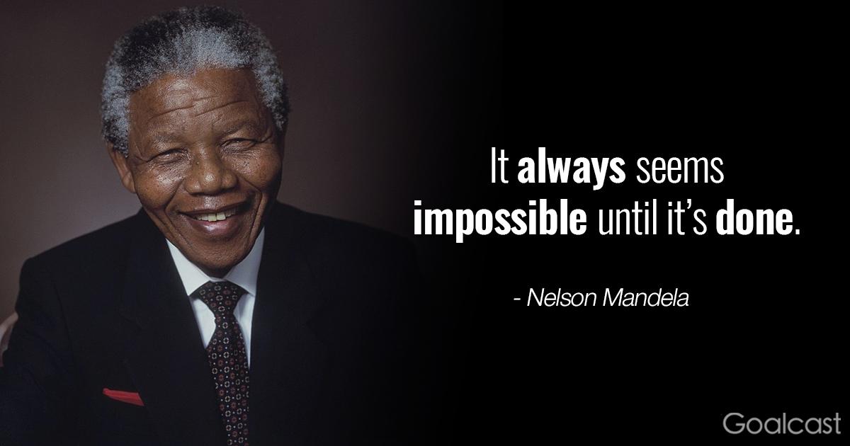 Nelson Mandela Quotes: Inspiring Nelson Mandela Quotes