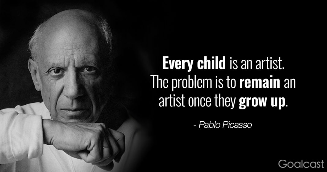 Top 20 Pablo Picasso Quotes to Inspire the Artist in You | Goalcast