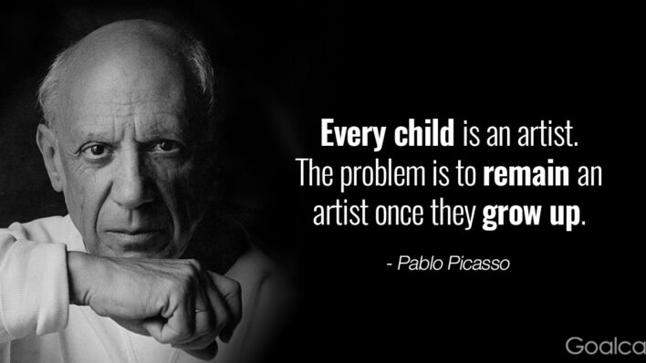 Picasso quotes - Every child is an artist