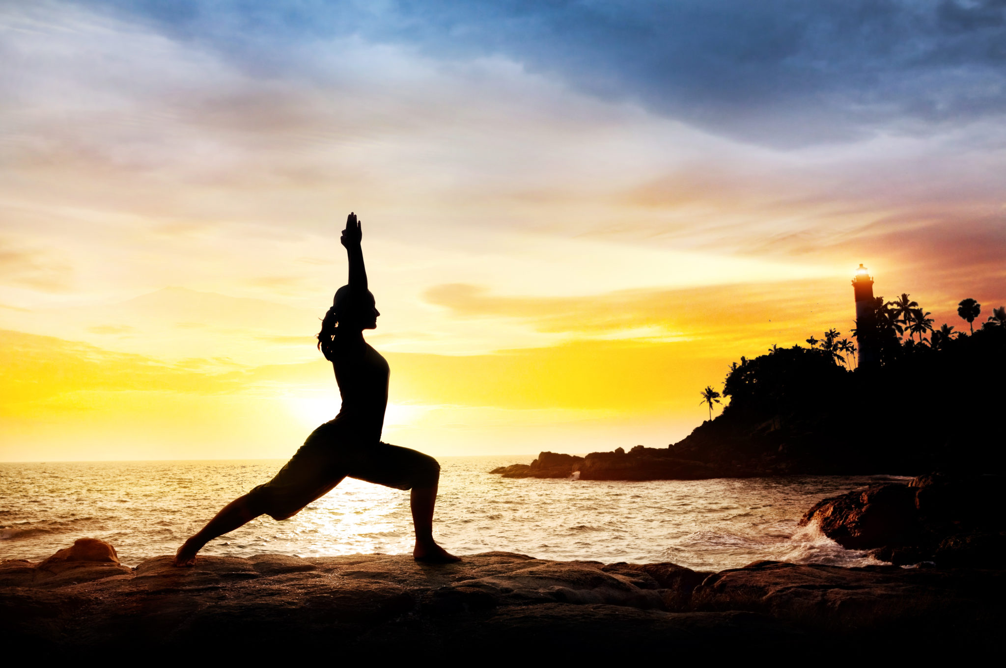 The meditative aspects of yoga are the most powerful