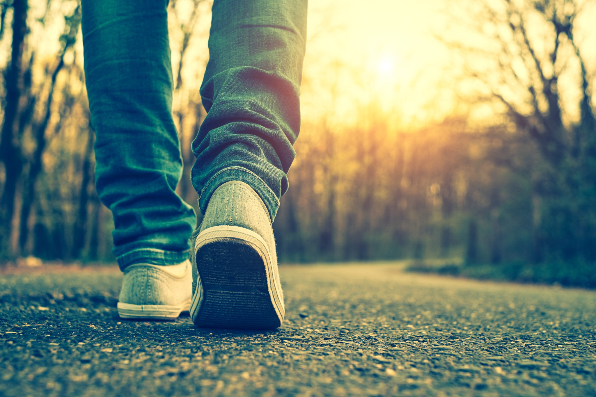 Stop reading about improving your health and take action: Go for a walk right now