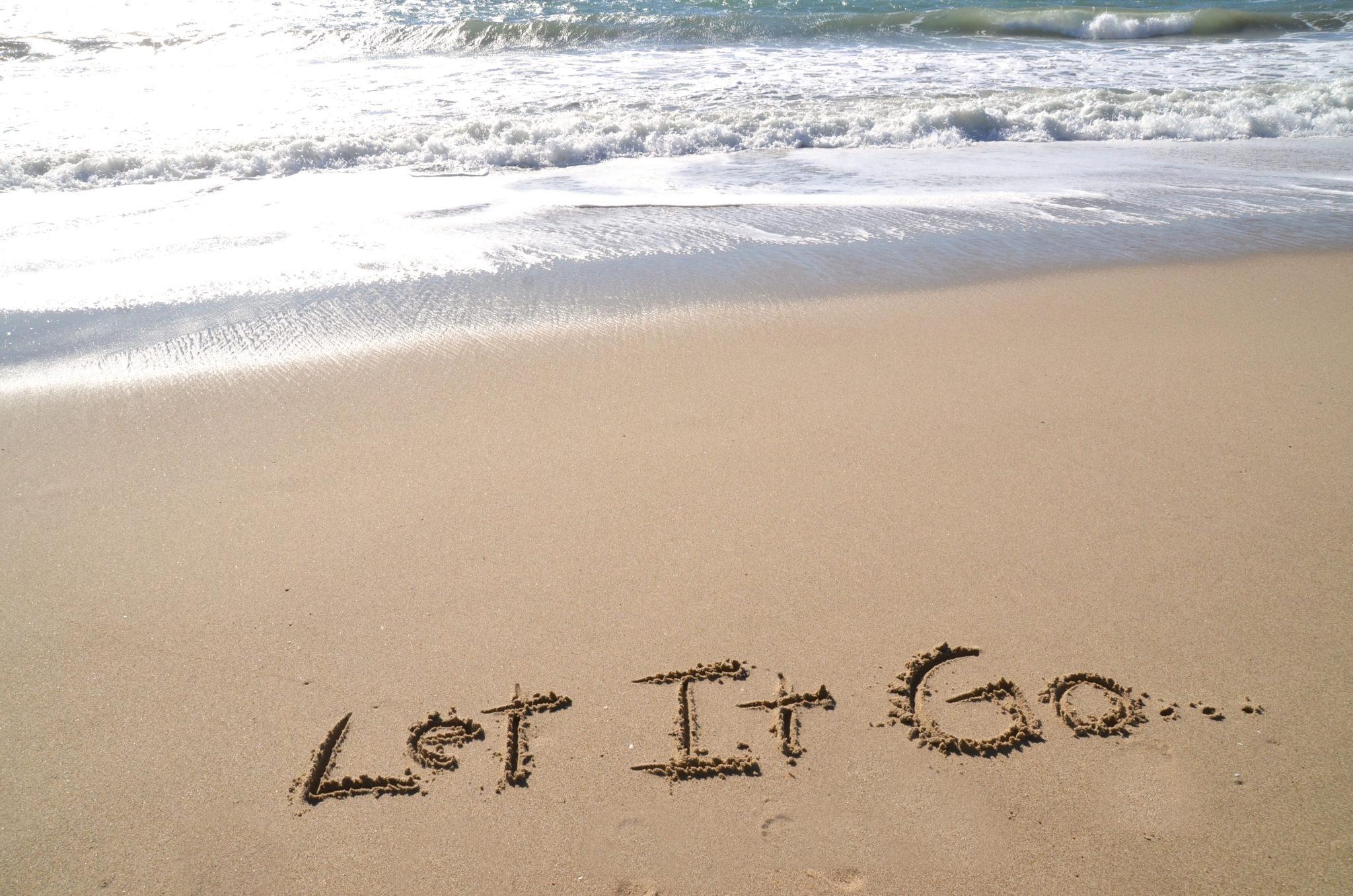 Let go of your guilt