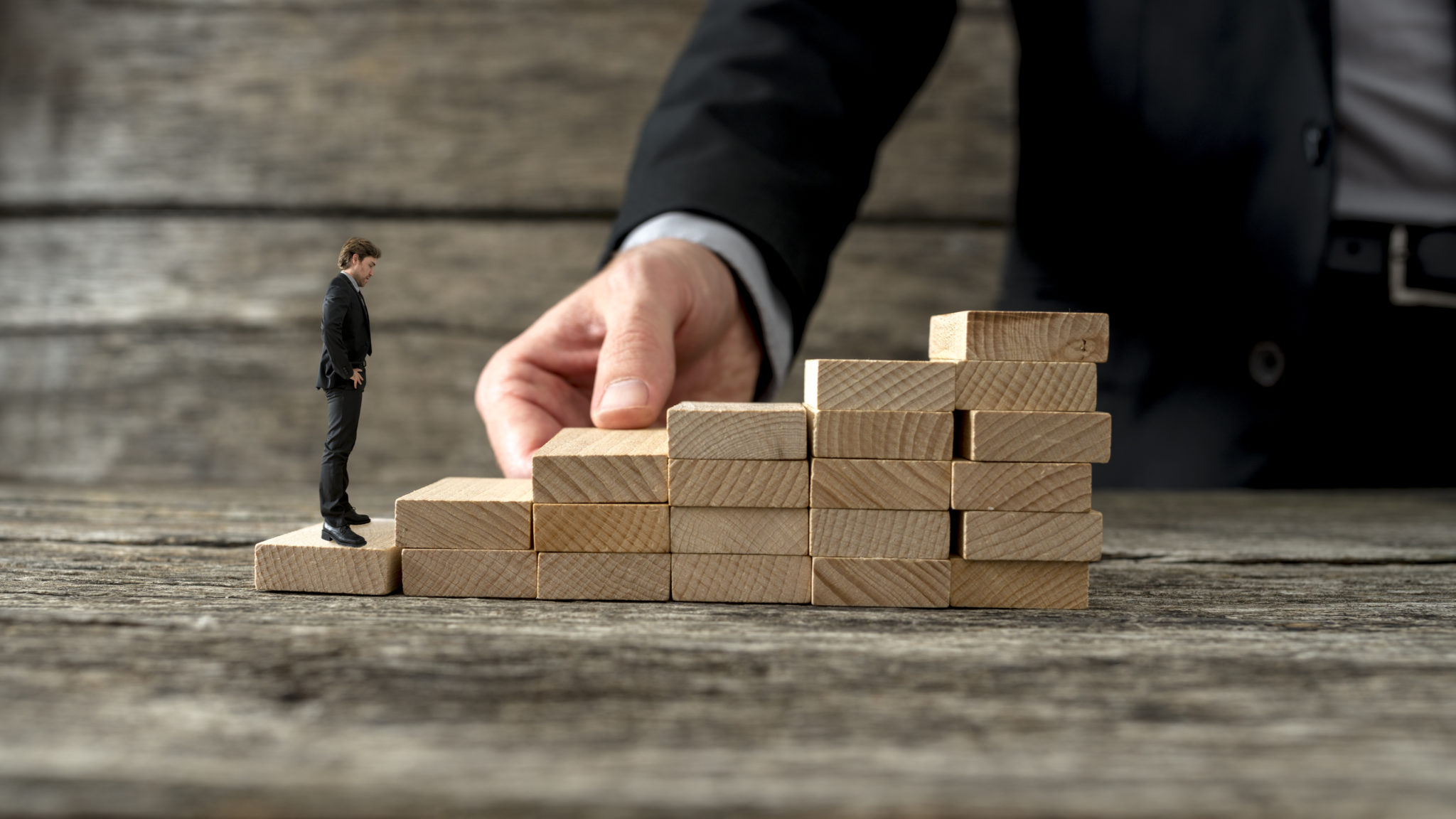 The growth path up the corporate ladder