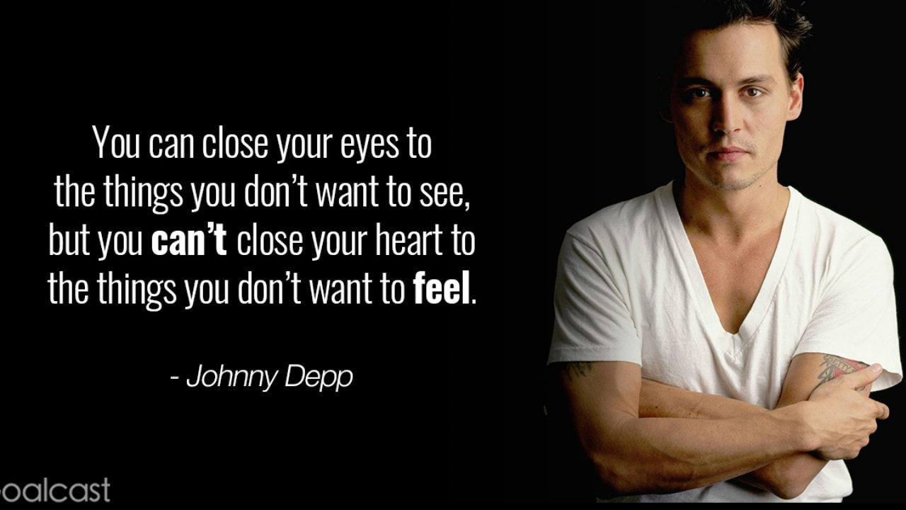 Top 6 Johnny Depp Quotes That Will Change How You Look at Life