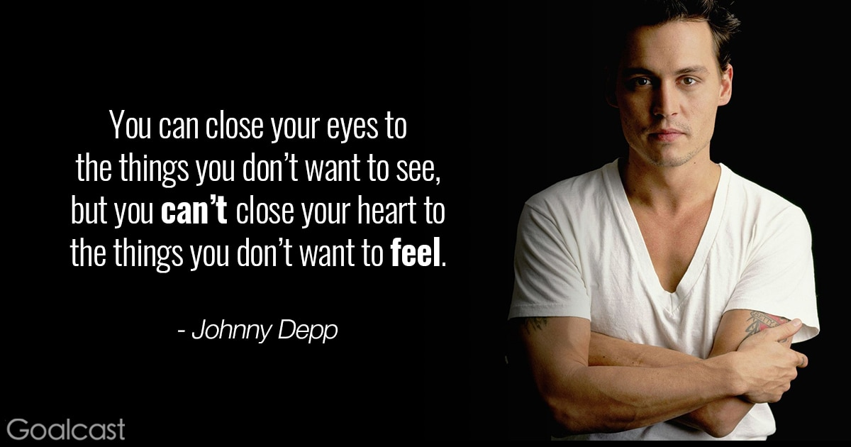 If You Want To Know Where Your Heart Is Look Where Your: Top 18 Johnny Depp Quotes That Will Change How You Look At