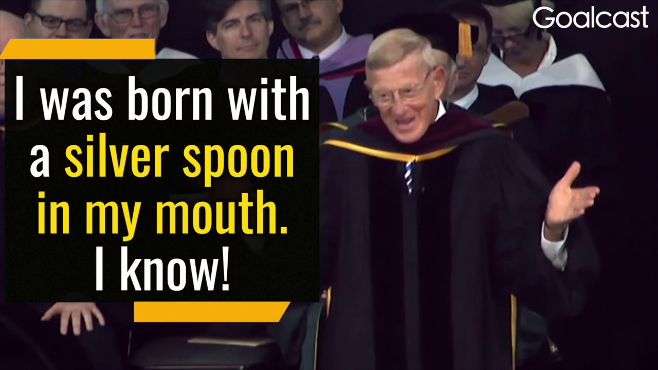 Lou Holtz Rules To A Less Complicated Life Goalcast
