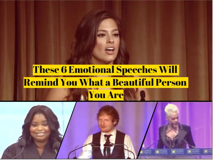 I Couldnt Help It These Guys Reminded >> These 6 Emotional Speeches Will Remind You What A Beautiful Person