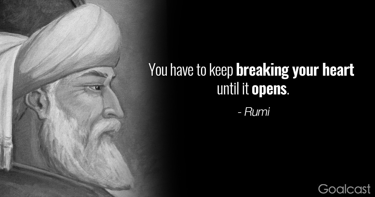55 Great Rumi Quotes To Give You A More Positive Outlook On Life