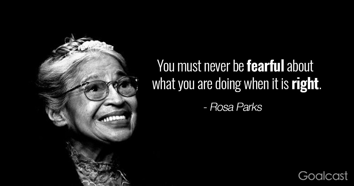 14 Rosa Parks Quotes To Teach You How To Stand Your Ground