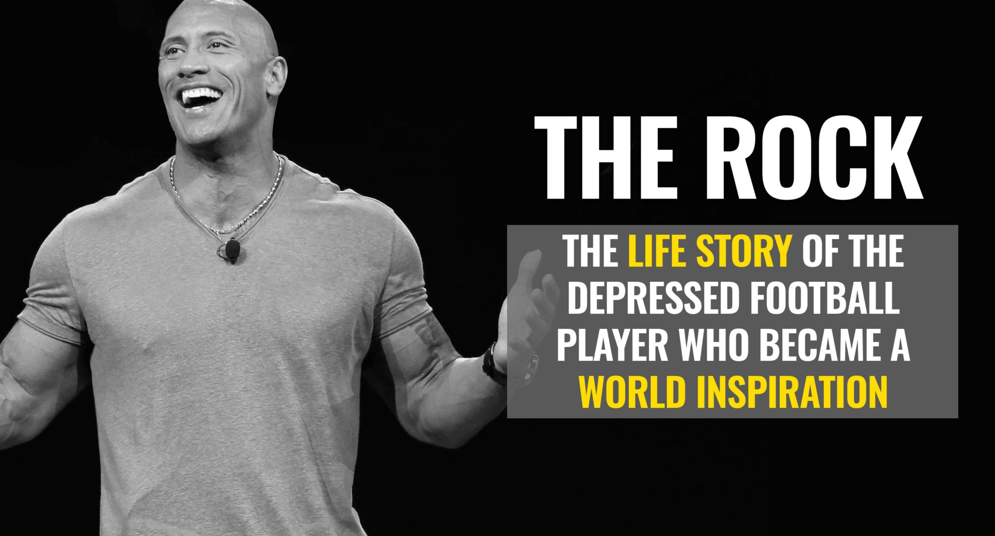 Video Dwayne The Rock Johnson The Life Story Of A World
