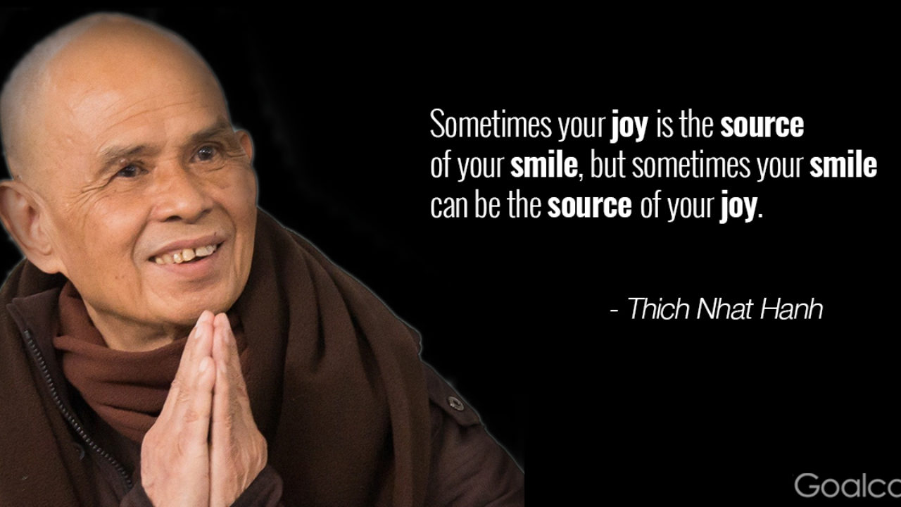 thich nhat hanh quotes to transform negative emotions goalcast
