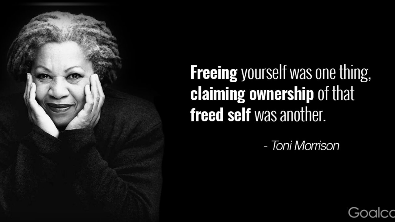 toni morrison quotes to make you hold your head high