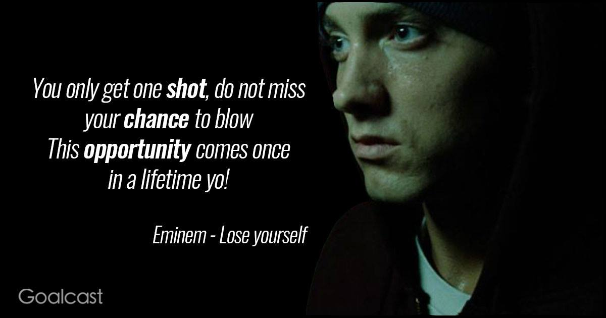 Lyric rapping lyrics : 15 Eminem Lyrics to Teach You to Never Back Down
