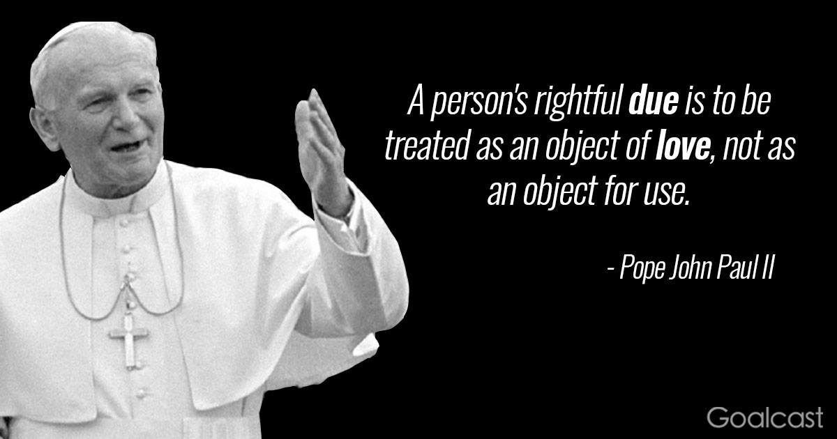 8 Amazing Leadership Quotes by St Pope John Paul II
