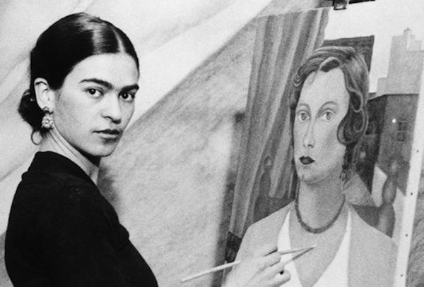 Frida-Kahlo-painting