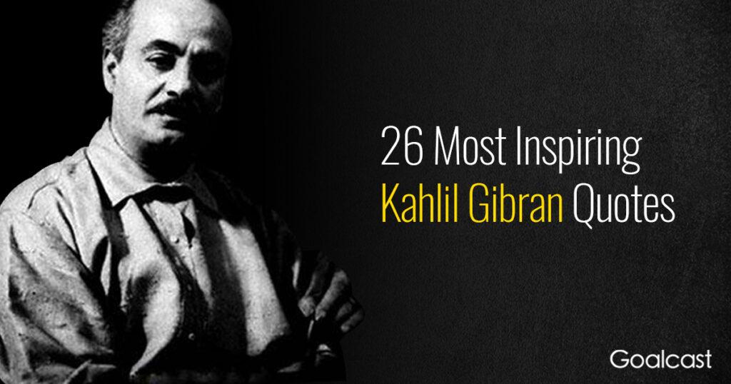 best-kahlil-gibran-quotes