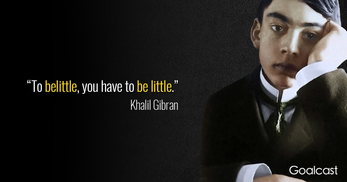 Top 26 Most Inspiring Kahlil Gibran Quotes
