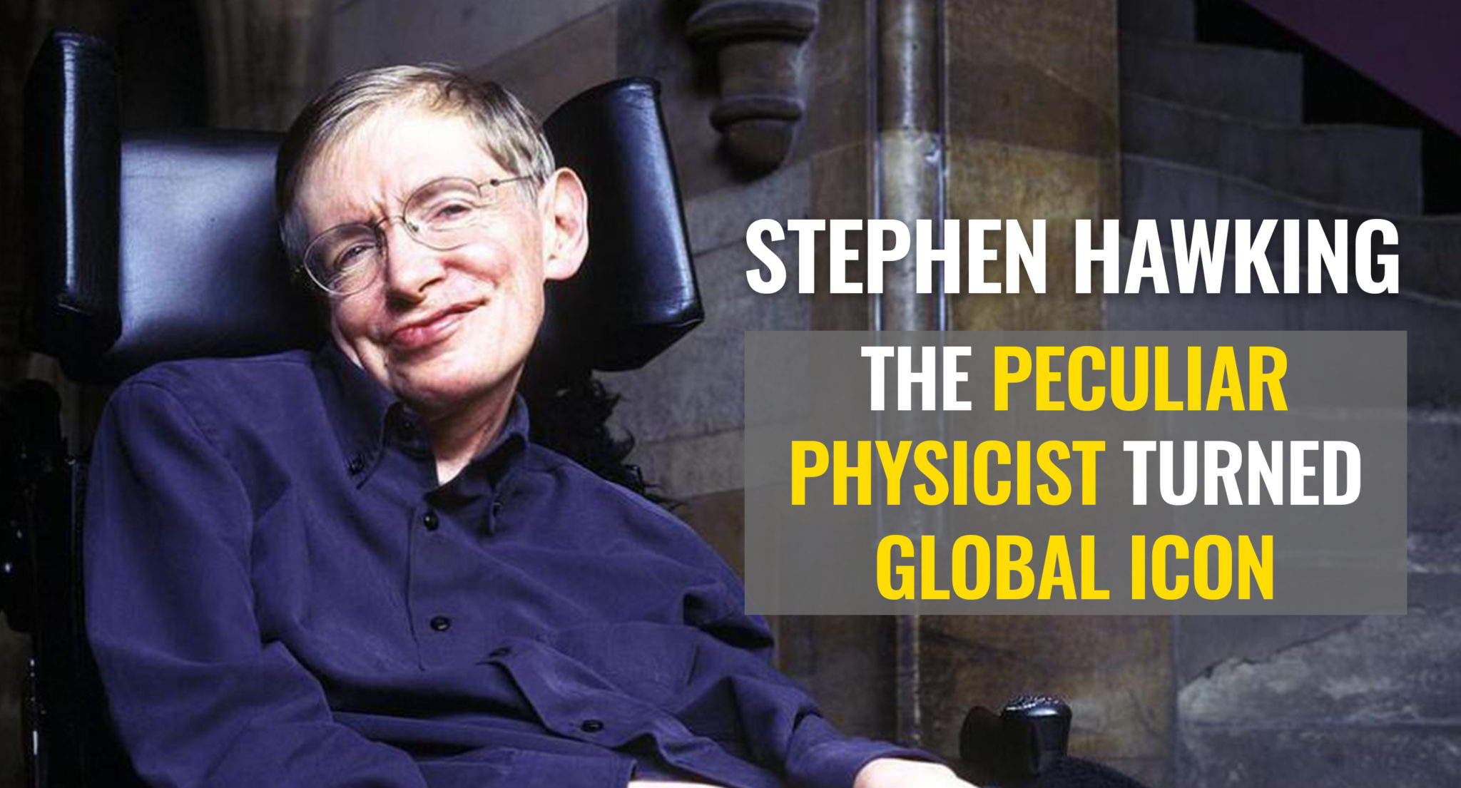 biography of stephen hawkings Stephen hawking is one of the most recognisable figures in modern science his book 'a brief history of time' explained modern physics to the public.