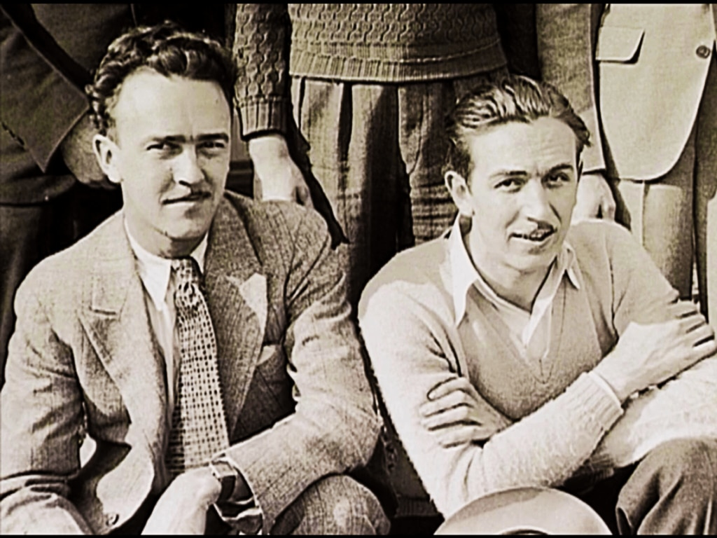ub-iwerks-and-walt-disney-posing-for-a-photo