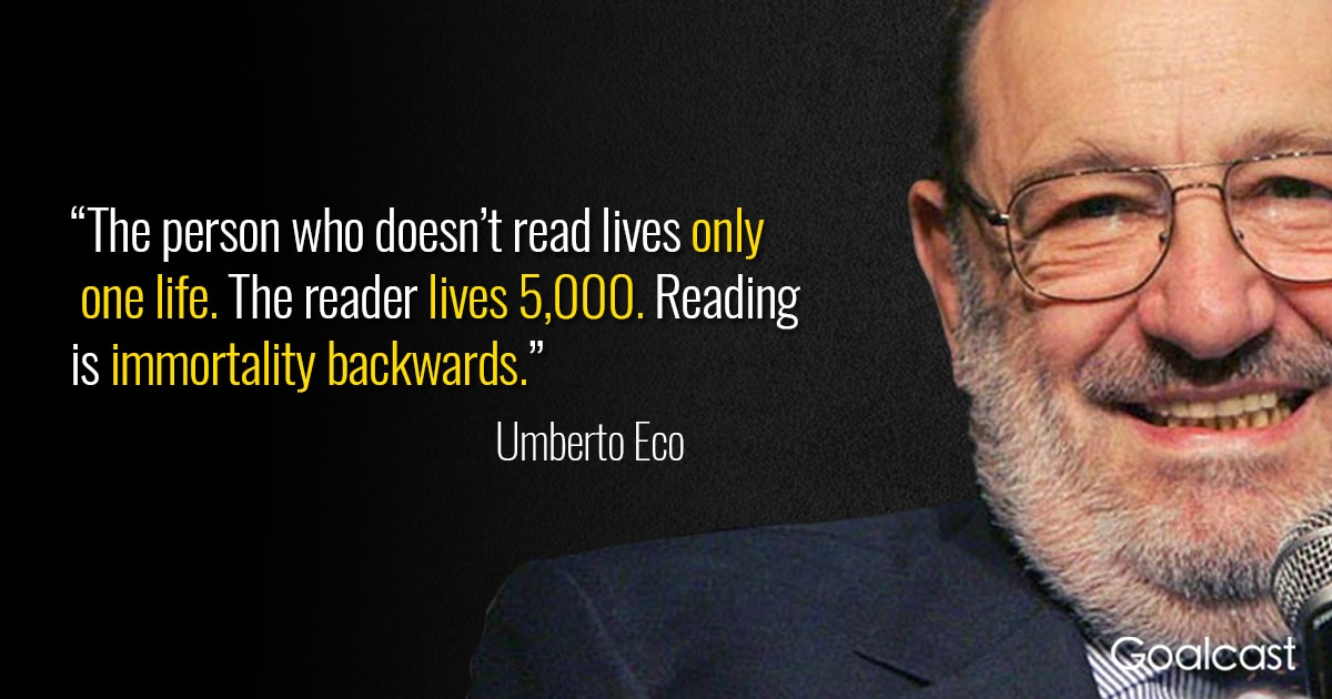 25 Umberto Eco Quotes to Inspire You to Write Your Own Story