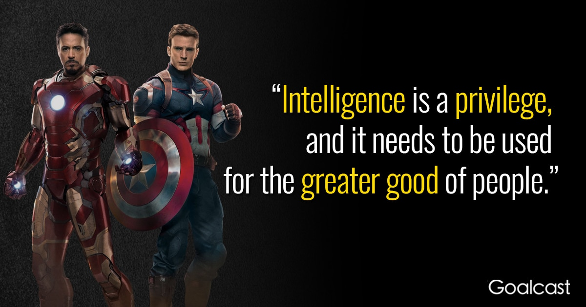 Marvel Dr. Octopus Quote On Intelligence