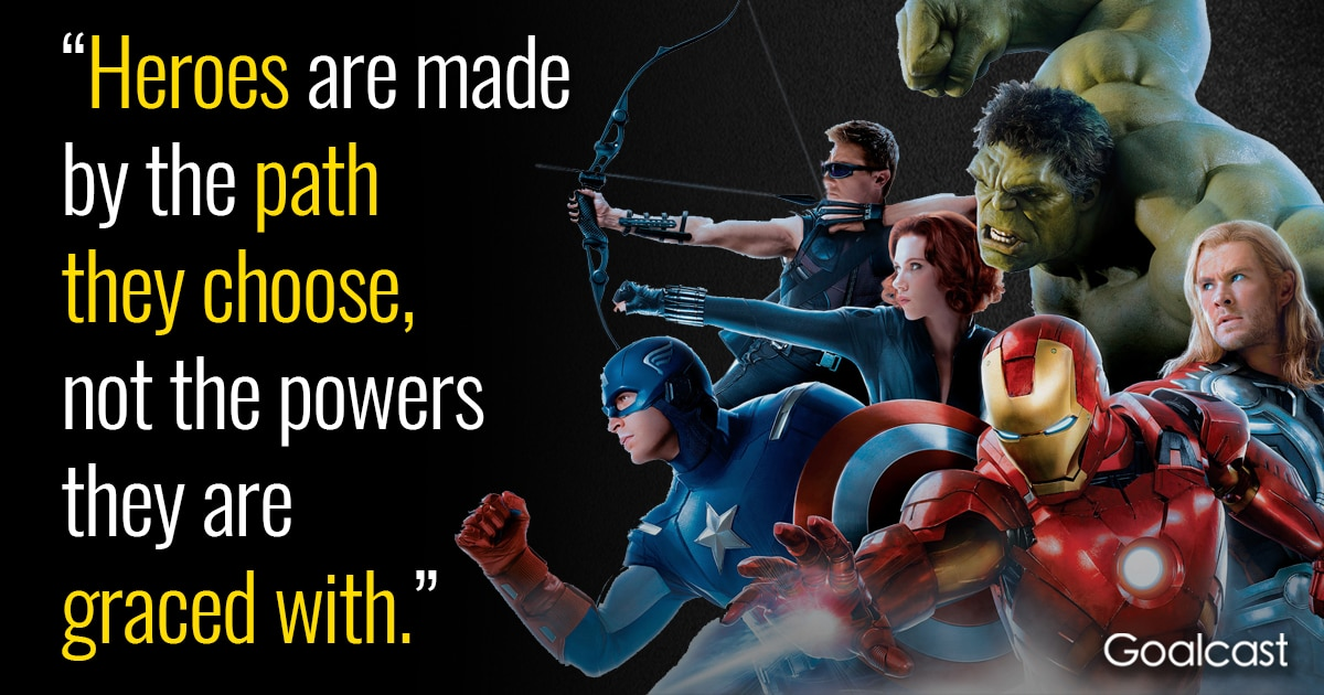 3d4cf4270d 15 Marvel Quotes to Help you Find the Superhero Within