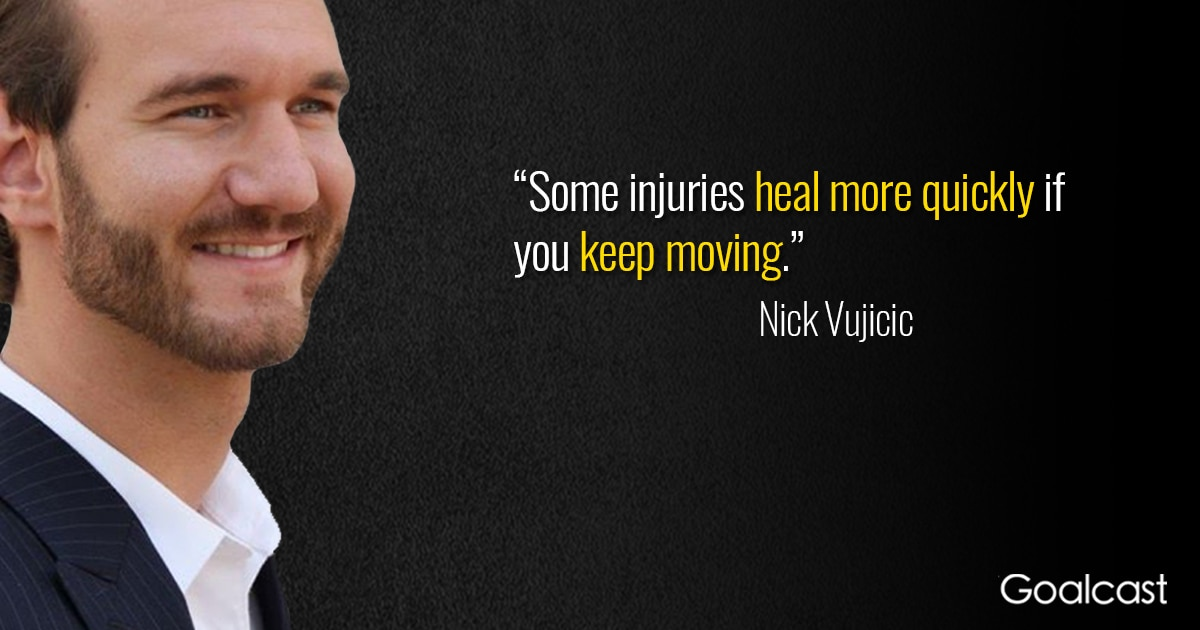 16 Of The Best Motivational Nick Vujicic Quotes