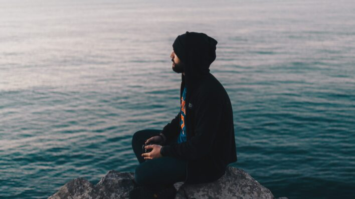 man-practicing-mindfulness