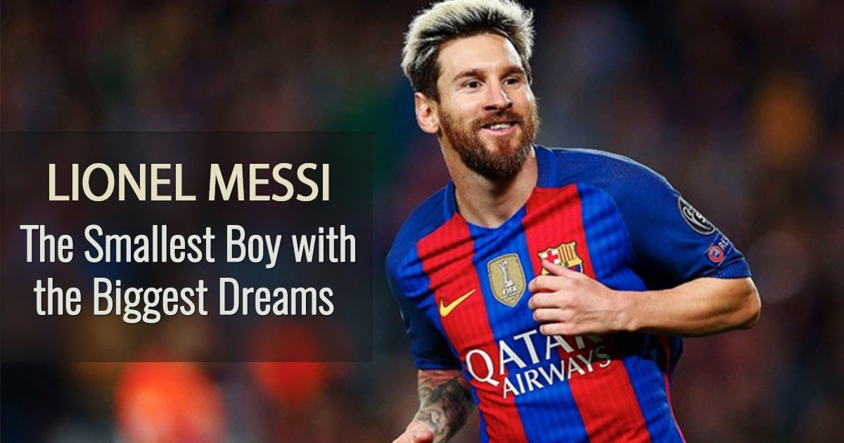 3dc29e021f5 VIDEO  Lionel Messi s Life Story  The Smallest Boy With The Biggest ...